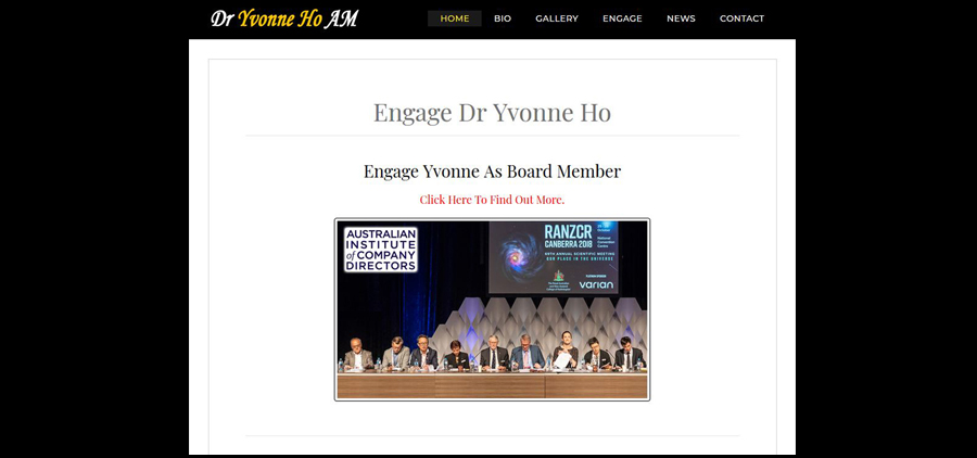 Click Here to Read More of Engaging Dr Yvonne Ho