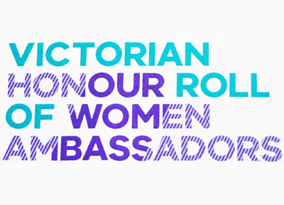 Victorian Honour Roll of Women Ambassador